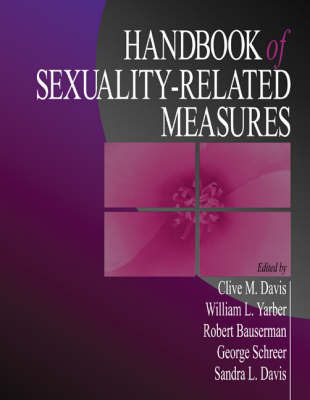 Handbook of Sexuality-Related Measures by Clive M. Davis