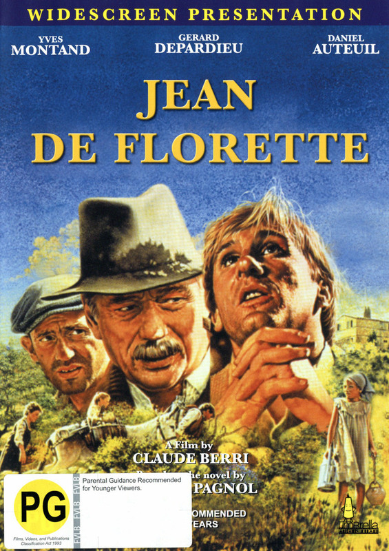 Jean De Florette on DVD