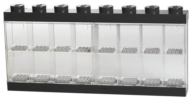 LEGO: Minifigure Display Case 16 - Black