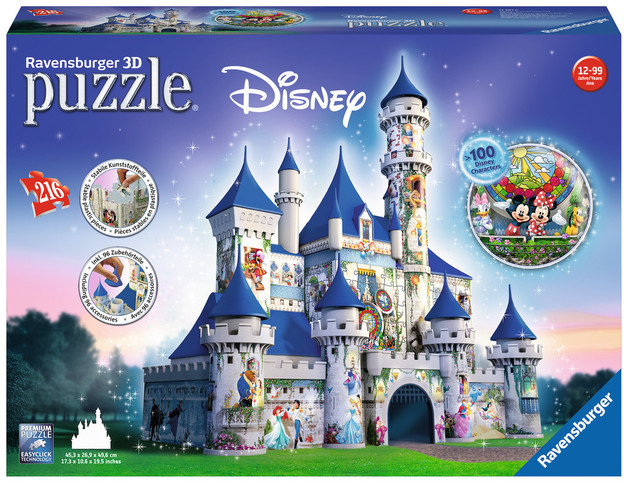 Ravensburger: Disney Castle - 216pc 3D Puzzle