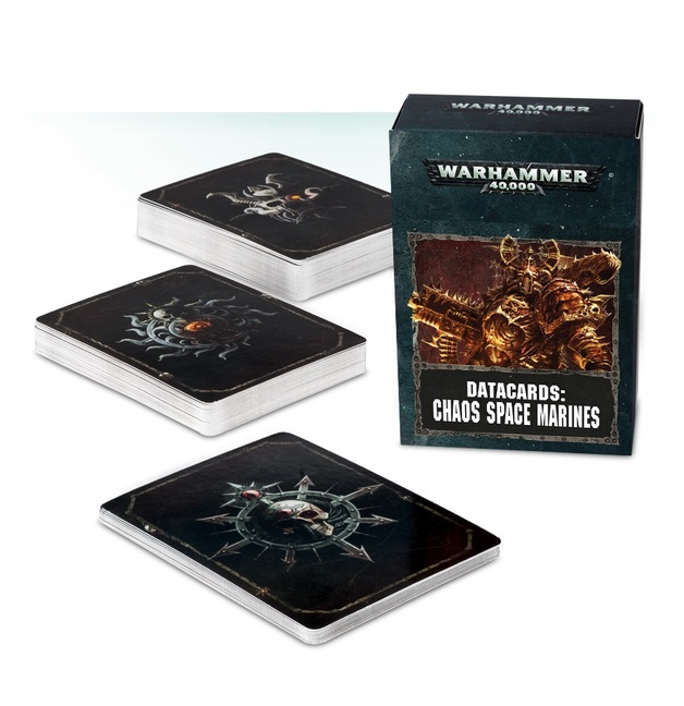 Warhammer 40,000 Datacards: Chaos Space Marines