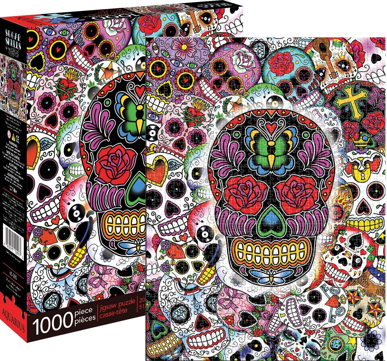 Aquarius: Sugar Skulls - 1000-Piece Puzzle image