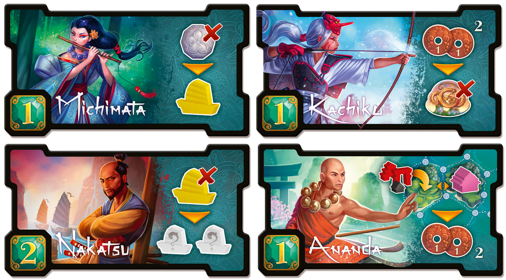 Yamatai - Board Game image
