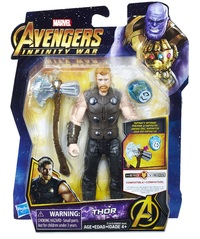 "Avengers Infinity War: Thor - 6"" Action Figure"