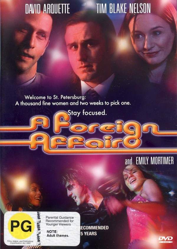 A Foreign Affair on DVD image