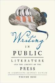 Writing in Public by Trevor Ross