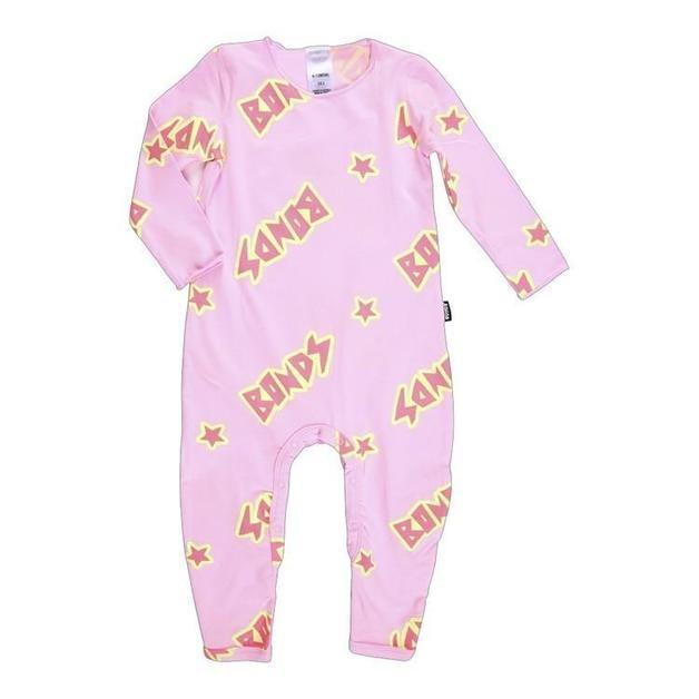 Bonds: Newbies Cozysuit - Milky Way Daydream Blush (0-3 Months)