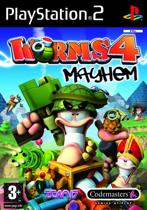 Worms 4: Mayhem for PlayStation 2