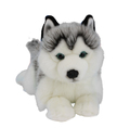 Husky Dog Lying Plush