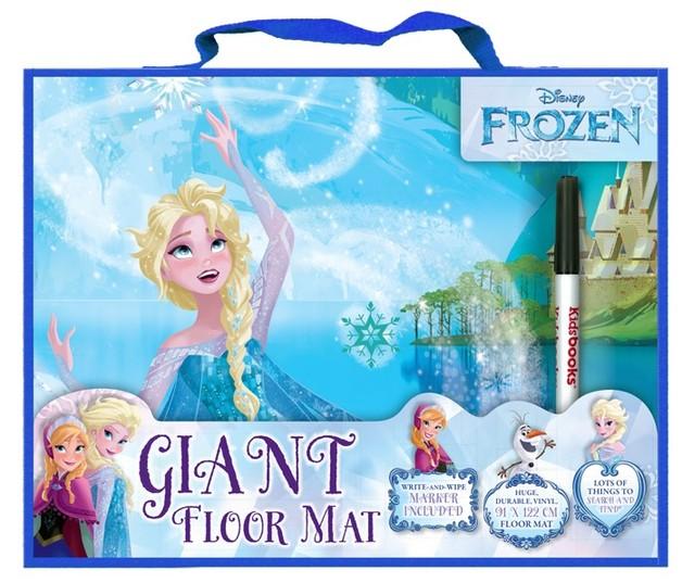 Disney Frozen Giant Floor Mat Toy At Mighty Ape Australia