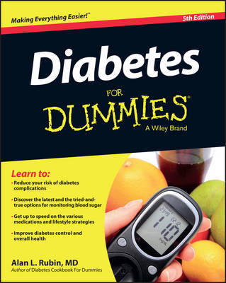 Diabetes For Dummies by Alan L. Rubin image