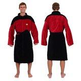 Star Trek The Next Generation Red Commander Bathrobe
