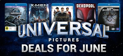 Up to 60% off Universal Pictures DVDs and Blu-ray!