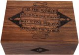 Cardtorial Wooden Box - You Are The World