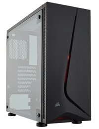 Corsair: Carbide Series SPEC-05 Mid-Tower Gaming Case With Window - Black