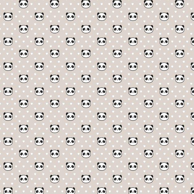 Legami: Wrapping Paper - Panda
