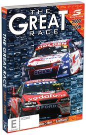The Great Race: 2002 to 2008 Supercars on DVD