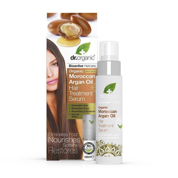 Dr. Organic - Moroccan Argan Oil Hair Treatment Serum (100ml)