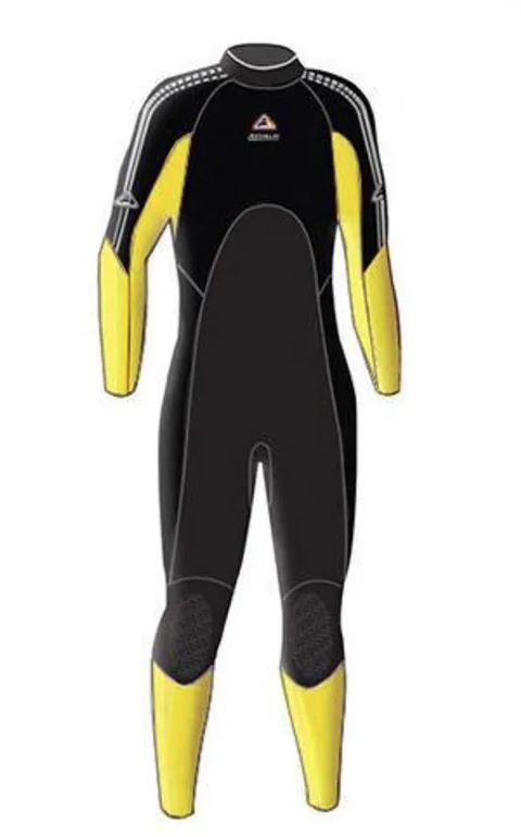 Enduro Junior Steamer - Yellow (Size 6)