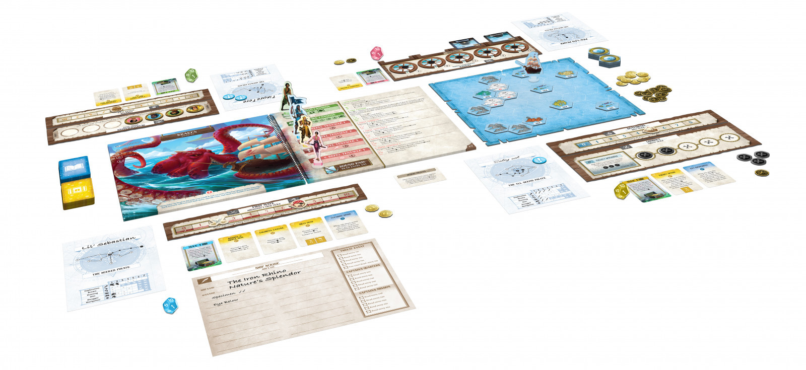 Forgotten Waters - Board Game image