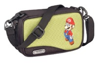 Mario Carry Case for Nintendo DS & GBA (Green) for Nintendo DS image