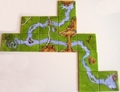 Carcassonne Expansion -The River II