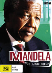 Mandela - The Living Legend on DVD