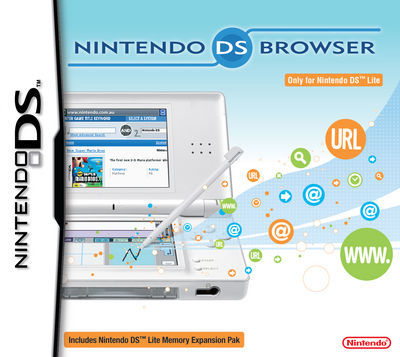 Nintendo DS Internet Browser for DS Lite for Nintendo DS