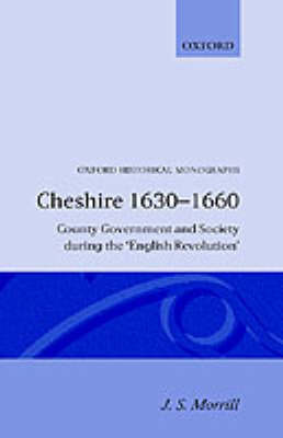 Cheshire 1630-1660 by J.S. Morrill