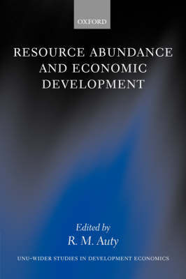 Resource Abundance and Economic Development