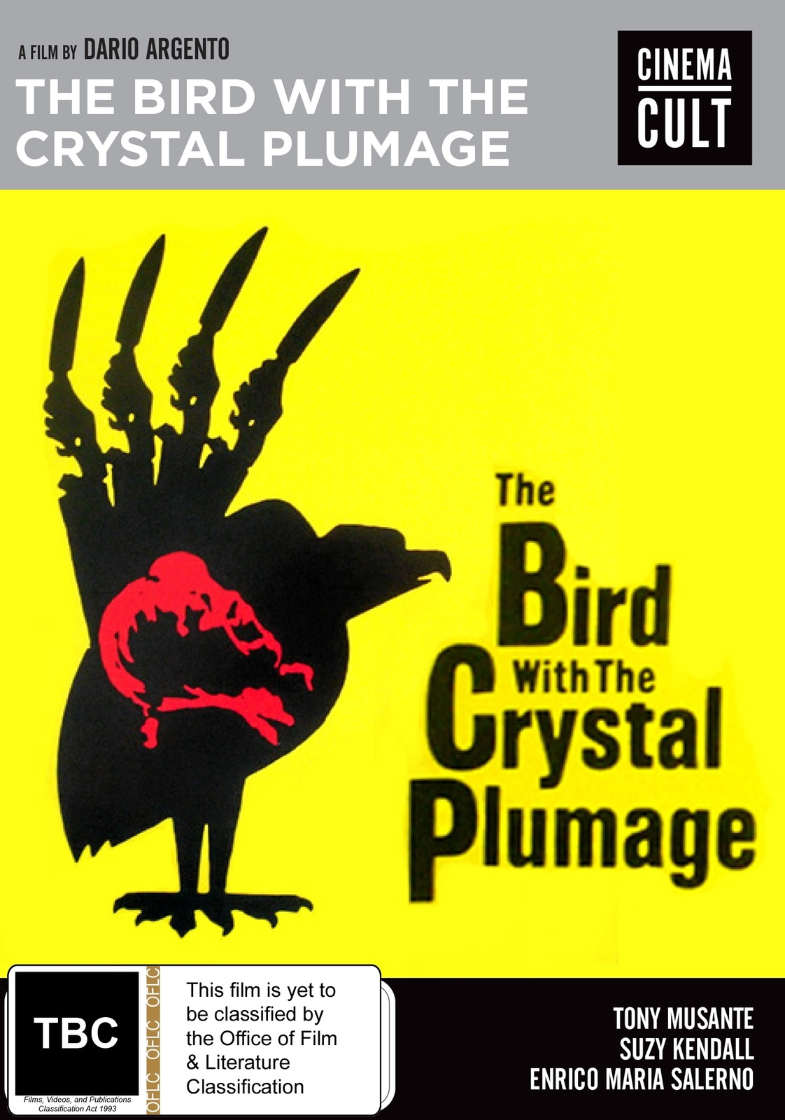 The Bird With The Crystal Plumage on DVD image
