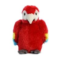 Aurora: Mini Flopsie - Scarlet Macaw