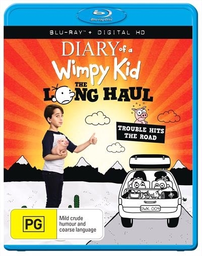 Diary Of A Wimpy Kid: Long Haul on Blu-ray image