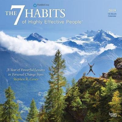 7 Habits of Highly Effective People, the 2019 Square Wall Calendar by Inc Browntrout Publishers