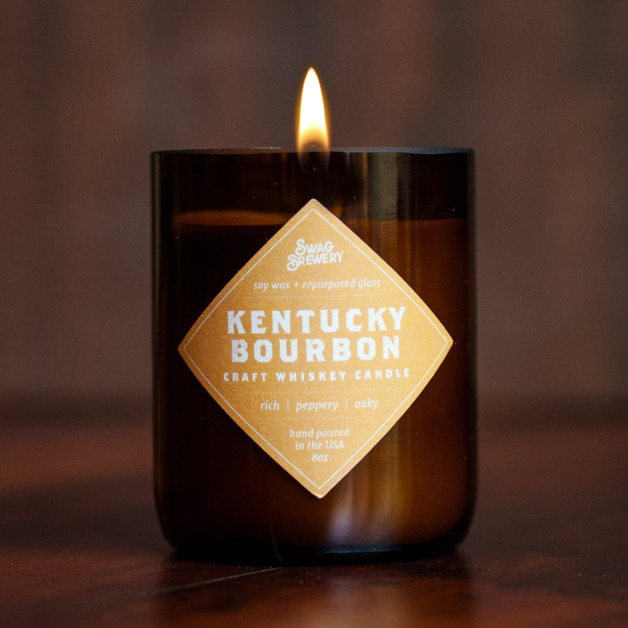 Swag Brewery Kentucky Bourbon Brew Candle