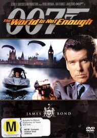 James Bond - The World Is Not Enough on DVD