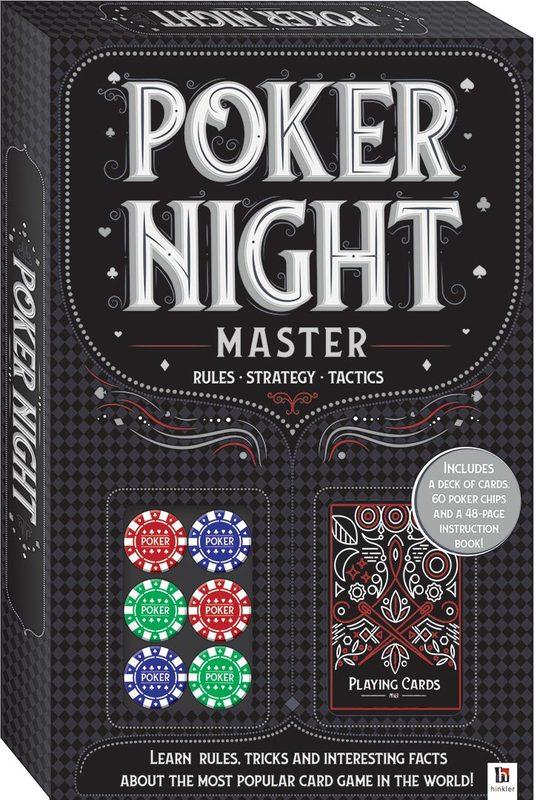 Hinkler: Poker Night - Game Kit