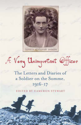 A Very Unimportant Officer: Life and Death on the Somme and at Passchendaele by Captain Alexander Stewart image