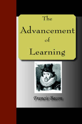 The Advancement of Learning by Francis Bacon image