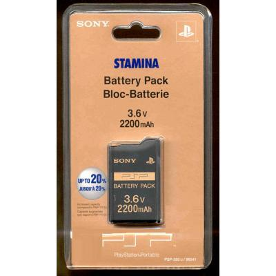 Sony Stamina Battery Pack 2200 MAh for Sony PSP for PSP