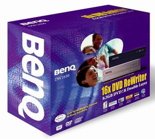 BenQ DW1650 Internal Dual Layer DVD+/-RW Drive