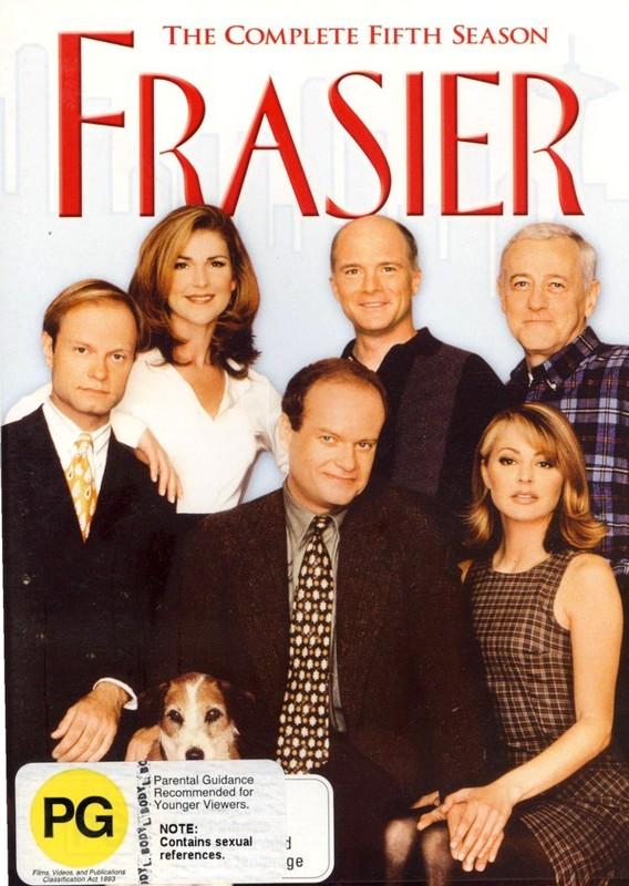 Frasier - Season 5 on DVD