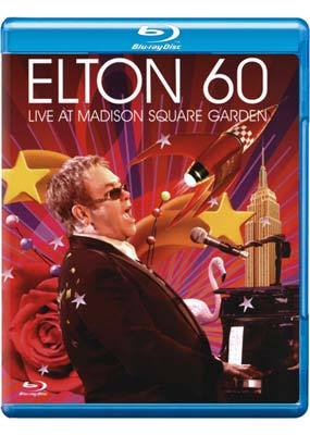 Elton 60: Live at Madison Square Garden - Elton John on Blu-ray