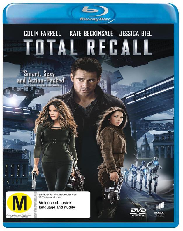Total Recall on Blu-ray