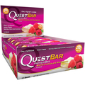 Quest Nutrition - Quest Bar Box of 12 (White Chocolate Raspberry)