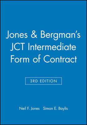 Jones and Bergman's JCT Intermediate Form of Contract by Neil F. Jones
