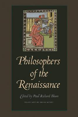 Philosophers of the Renaissance