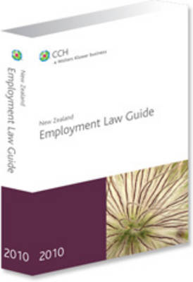 New Zealand Employment Law Guide 2010 by Richard Rudman image