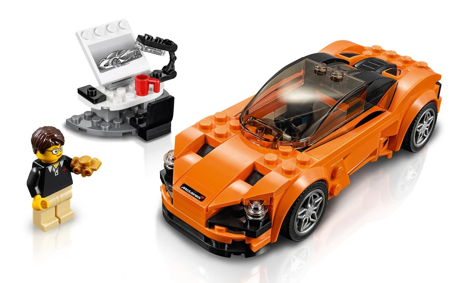LEGO Speed Champions - McLaren 720S (75880) image