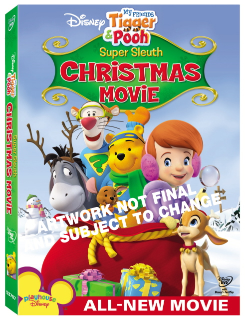 My Friends Tigger And Pooh - Pooh's Super Sleuth Christmas Mystery on DVD image